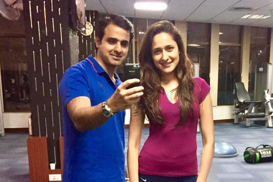 Pragya Jaiswal at 360 Degree Fitness