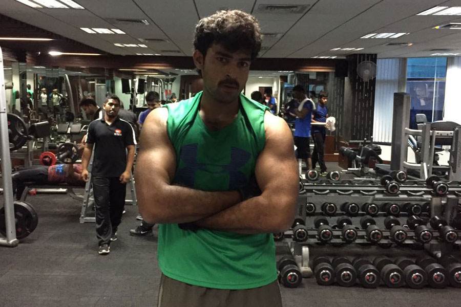 Varun Tej at 360 Degree Fitness